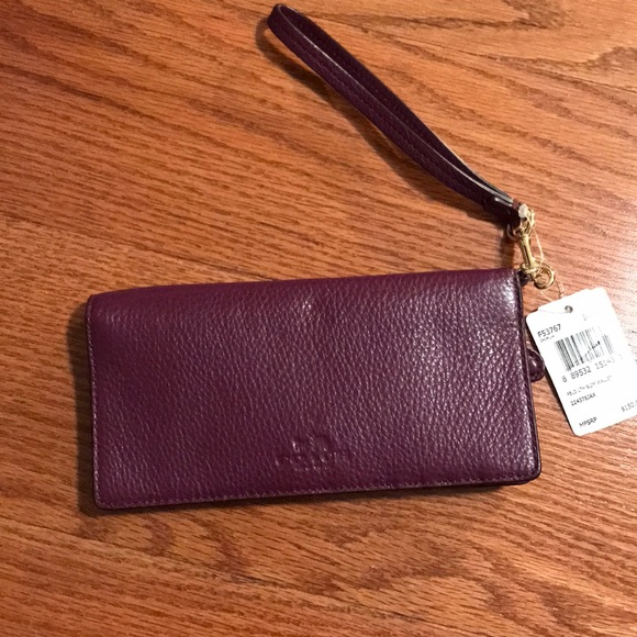Coach Slim Wallet Wristlet